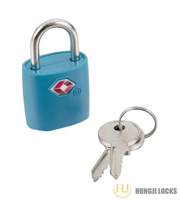 TSA包塑挂锁HJZ-07